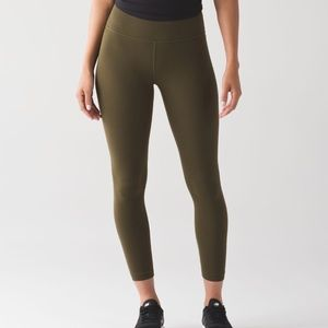 Army Green Lululemon Pants